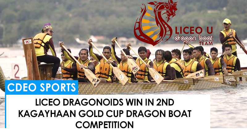 Liceo Dragonoids wins in 2nd Kagayhaan Gold Cup Dragon Boat Competition