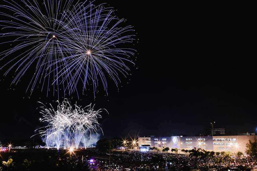 Higalaay Uptown Pyromusical Festival1