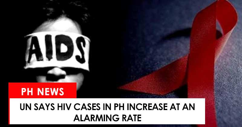 HIV cases in the Philippines increase