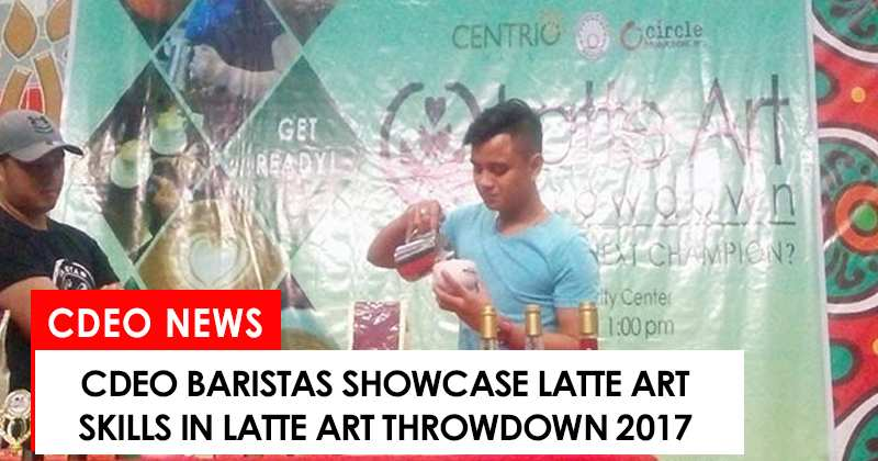 Baristas showcase talent in Latte Art Making competition