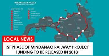 1st phase of mindanao railway to get budget in 2018
