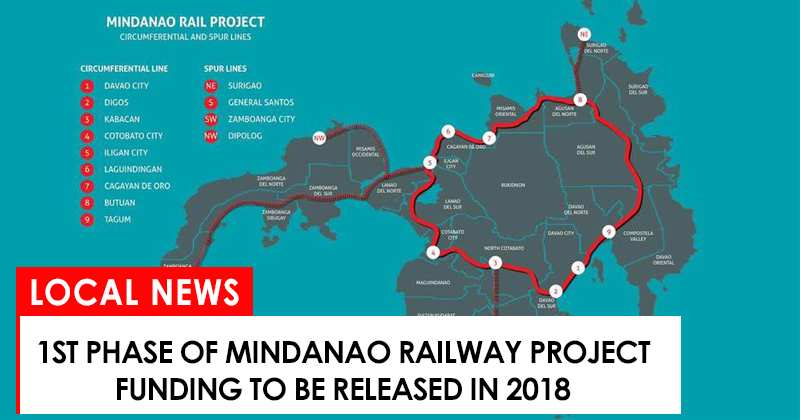 1st Phase Of Mindanao Railway Project Funding To Be