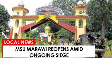 MSU Marawi reopens amid ongoing siege