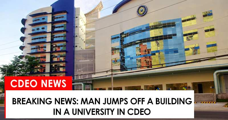 man jumps off in ustp