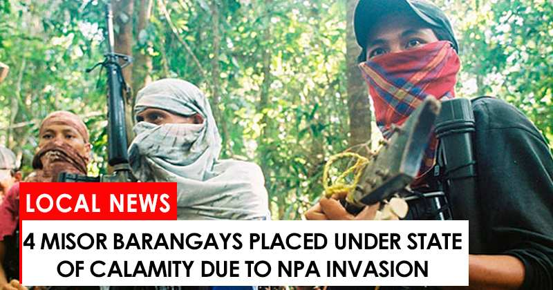 4 MisOr barangays placed under state of calamity