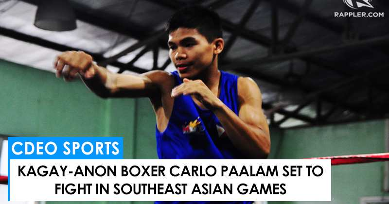 Carlo Paalam to fight in the Southeast Asian games