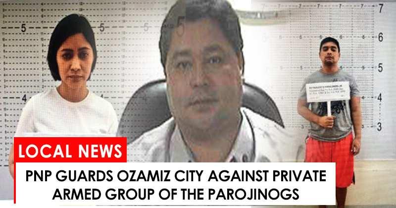 PNP guards Ozamiz City against Parojinogs