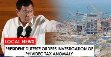 Duterte orders probe of Phividec tax scam