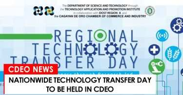 Technology Transfer to be held in CdeO