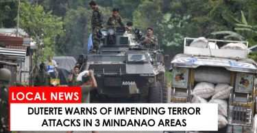 Duterte warns of impending attacks in 3 Mindanao areas