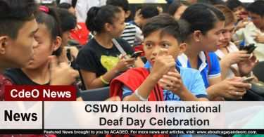 CSWD Holds International Deaf Day Celebration