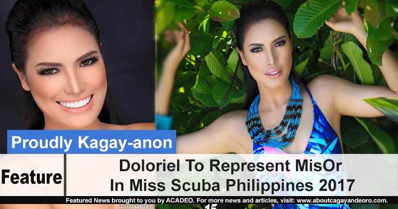 Doloriel To Represent MisOr In Miss Scuba Philippines 2017