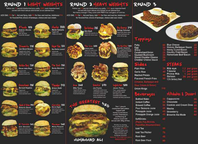 red Corner Burger Cafe Cagayan de Oro