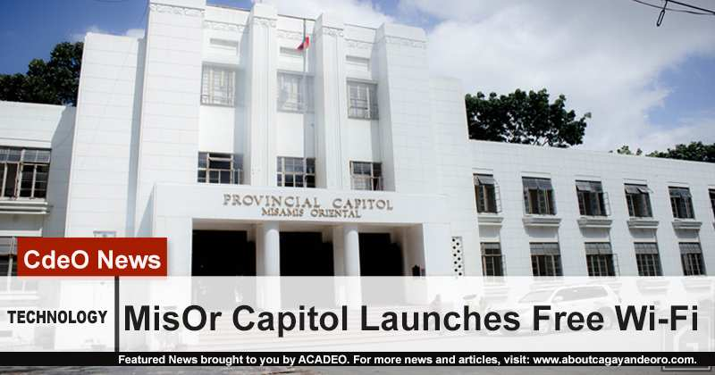 MisOr Capitol Launches Free Wi-Fi
