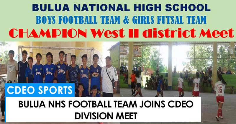 Bulua NHS joins CdeO Division meet
