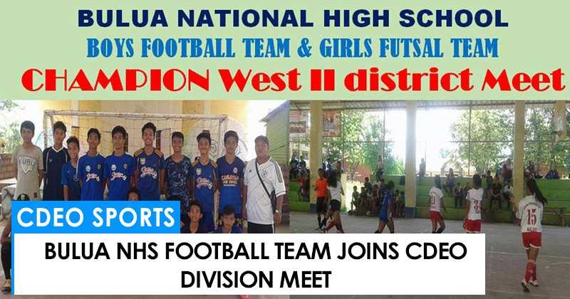 Bulua NHS joins CdeO Division meet