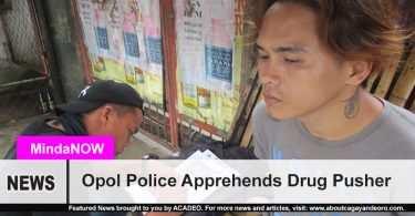 Opol police arrests drug pusher