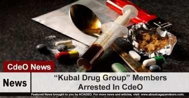 """""""Kubal Drug Group"""" Members Arrested In CdeO"""