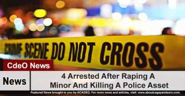 4 Arrested After Raping A Minor And Killing A Police Asset