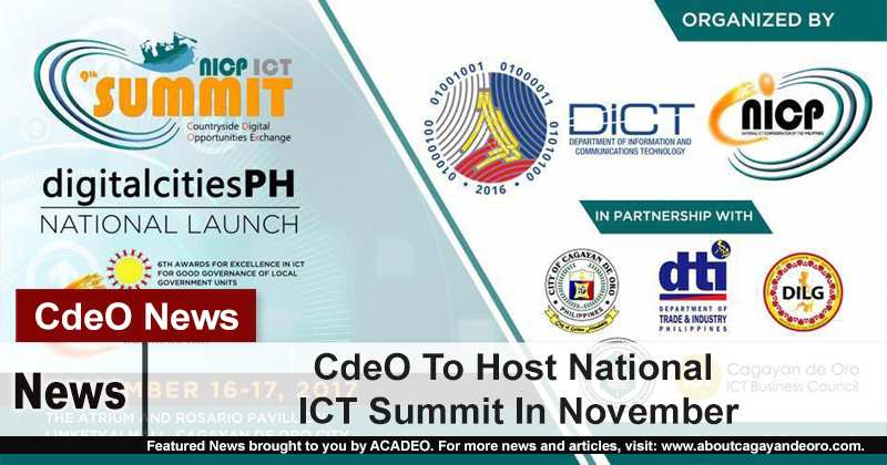 CdeO To Host National ICT Summit In November