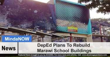 DepEd Plans To Rebuild Marawi School Buildings