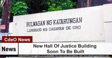 New Hall Of Justice Building Soon To Be Built