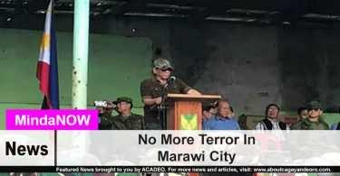 No More Terror In Marawi City