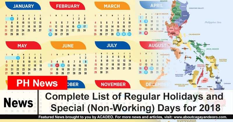 Calendar 2019 Working Days