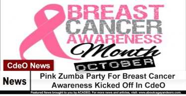 Pink Zumba Party For Breast Cancer Awareness Kicked Off In CdeO