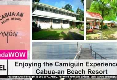 Enjoying the Camiguin Experience at Cabua-an Beach Resort
