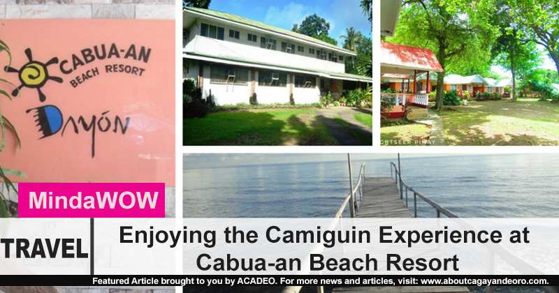 Enjoying the Camiguin Experience at Cabua-an Beach Resort