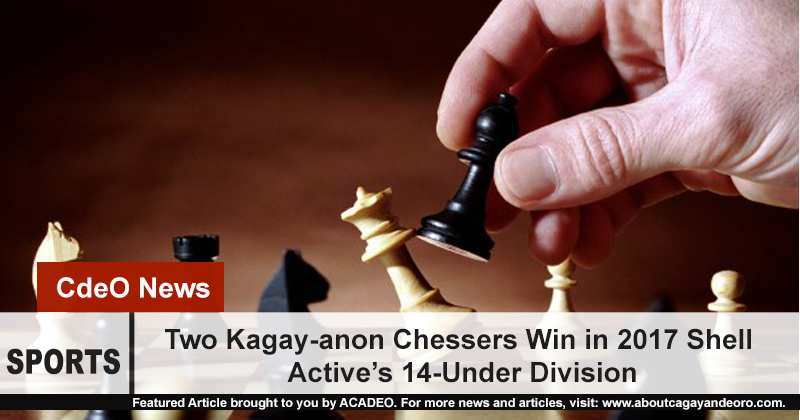 Two Kagay-anon Kiddie Chessers Win in Shell Active's