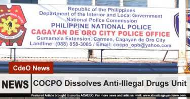 COCPO dissolves anti-illegal drug unit
