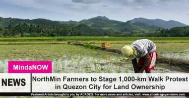 NorthMin farmers to stage protest in Quezon City