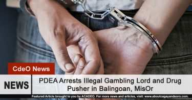 Illegal gambling operator and drug pusher nabbed by police