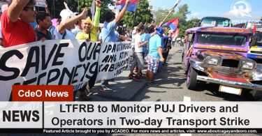LTFRB to check on drivers and operators during the transport strike