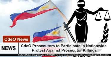 "CdeO Prosecutors to join in nationwide ""Black Friday"" protest"