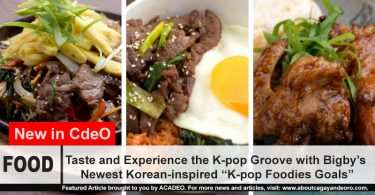 "Taste and Experience the K-pop Groove with Bigby's Newest Korean-inspired ""K-pop Foodies Goals"""