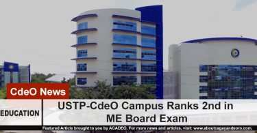 USTP ranks 2nd in ME Board Exam