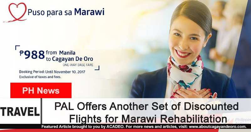 PAL Offers Another Set of Discounted Flights