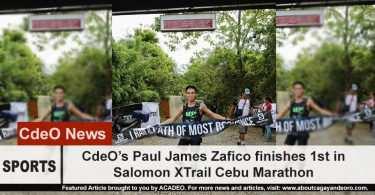 Paul James Zafico wins in Salomon XTrail Cebu