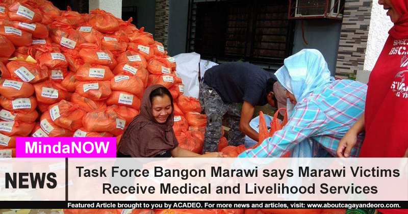 Marawi Evacuees receive medical and livelihood services