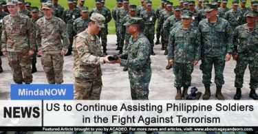 US to Continue Assisting Philippine Soldiers in the Fight Against Terrorism
