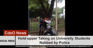 USTP Hold-upper arrested by police