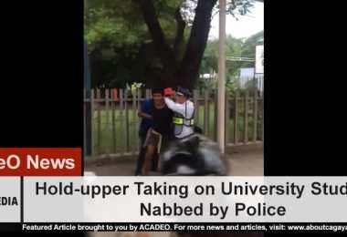 USTP Hold-upper arrested by police