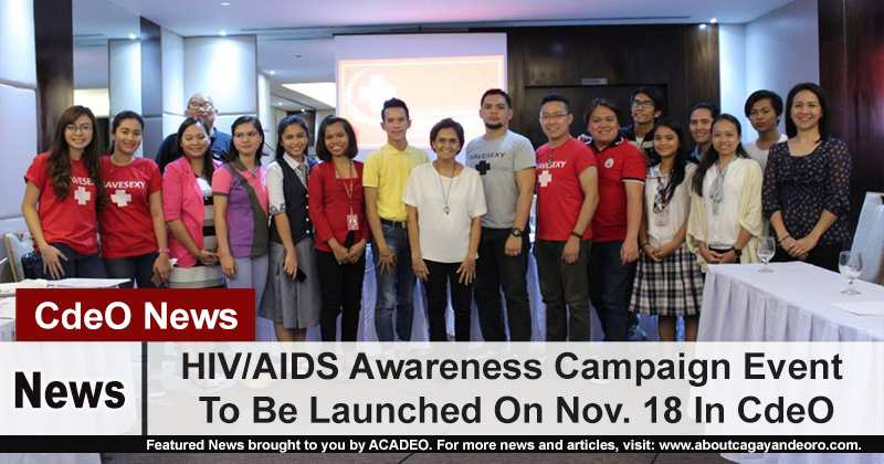 HIV/AIDS Awareness Campaign Event To Be Launched On Nov. 18 In CdeO