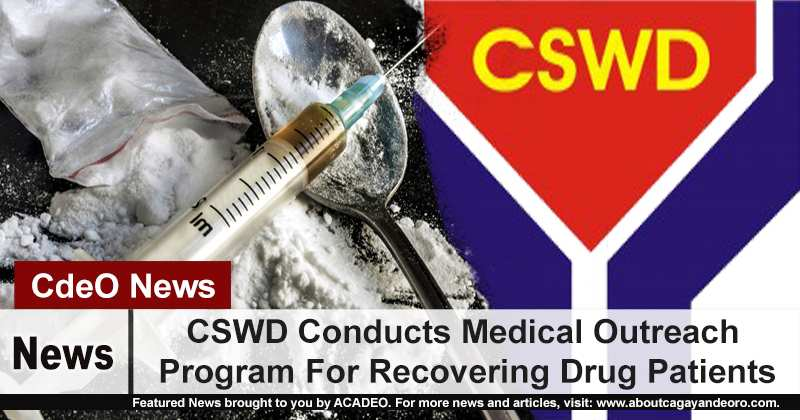 CSWD Conducts Medical Outreach Program For Recovering Drug Patients
