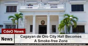 Cagayan de Oro City Hall Becomes A Smoke-free Zone