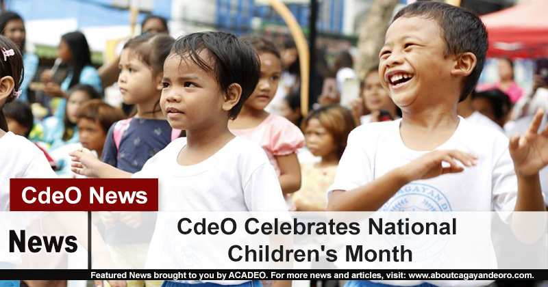 CdeO Celebrates National Children's Month