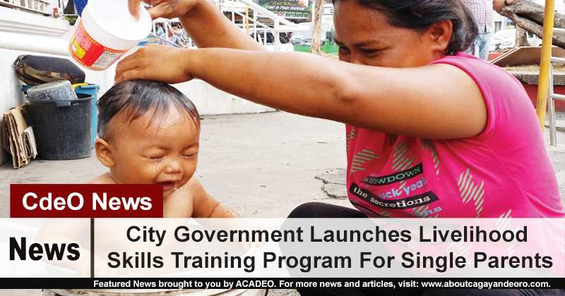 City Government Launches Livelihood Skills Training Program For Single Parents